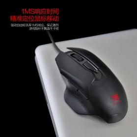 Remax Gaming Mouse 5000 DPI - XII-V3501 - Black - 3