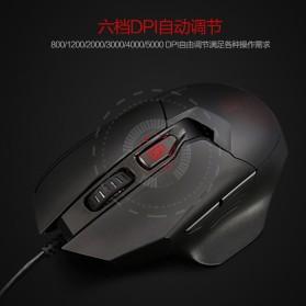 Remax Gaming Mouse 5000 DPI - XII-V3501 - Black - 4