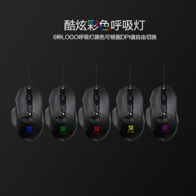 Remax Gaming Mouse 5000 DPI - XII-V3501 - Black - 6