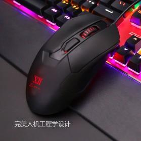 Remax Gaming Mouse 5000 DPI - XII-V3501 - Black - 7