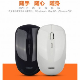 Remax Wireless Mouse 2.4GHz - G20 - Black - 2