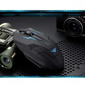 Rajfoo i5 Optical Wired USB Gaming Mouse 1600 DPI - Black/Blue - 5