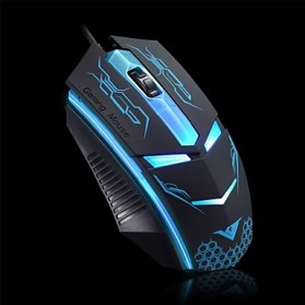 Rajfoo Terminator Professional Gaming Mouse 1600 DPI - Black - 2