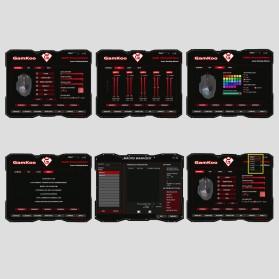 Rocketek Mouse Gaming Macro MMORPG 19 Buttons 16400 DPI - Black - 7