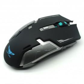 Geyes Gaming Mouse Wireless 1600 DPI (backup) - Black