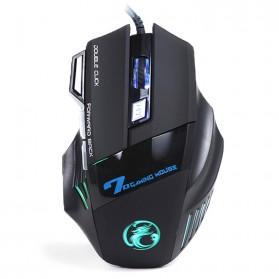iMice X7 Dark Knight Gaming Mouse RGB LED 5500DPI (backup) - Black