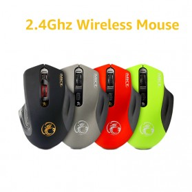iMice Wireless Gaming Mouse 2000 DPI - Normal Version - E-1800 - Black - 3