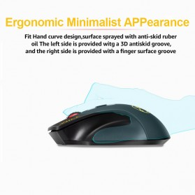 iMice Wireless Gaming Mouse 2000 DPI - Normal Version - E-1800 - Black - 5