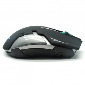 Geyes Gaming Mouse Wireless 1600 DPI - Black - 5