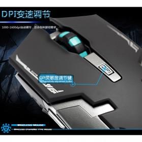 Geyes Gaming Mouse Wireless 1600 DPI - Black - 8