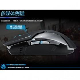 Geyes Gaming Mouse Wireless 1600 DPI - Black - 9