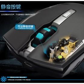 Geyes Gaming Mouse Wireless 1600 DPI - Black - 10