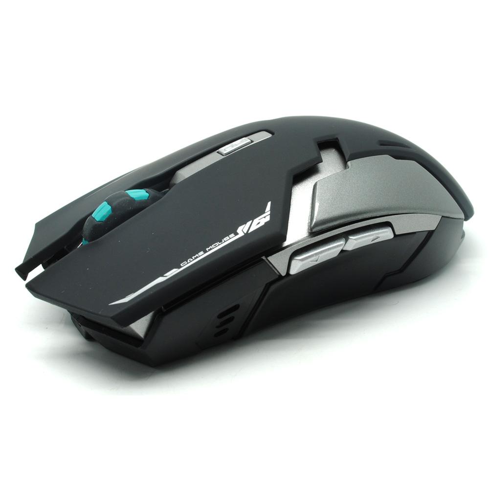 ... Geyes Gaming Mouse Wireless 1600 DPI - Black - 2 ...