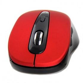 Mouse Wireless Bluetooth 3.0 1600DPI - BM308 - Black/Red - 2