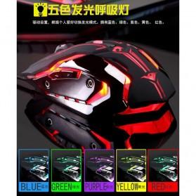 RAJFOO Gaming Mouse Laser - Model 1 - Black - 6