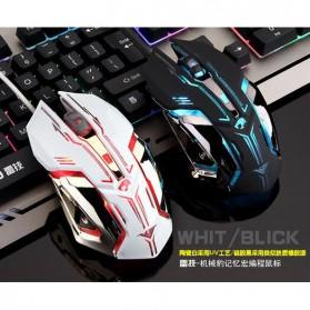 RAJFOO Gaming Mouse Laser - Model 1 - White - 2