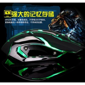 RAJFOO Gaming Mouse Laser - Model 1 - White - 4