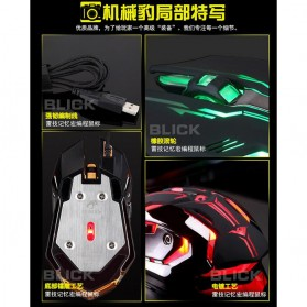RAJFOO Gaming Mouse Laser - Model 1 - White - 5