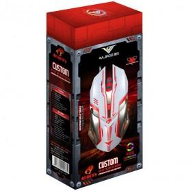 RAJFOO Gaming Mouse Laser - Model 1 - White - 7