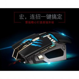RAJFOO Gaming Mouse Laser - Model 2 - Black