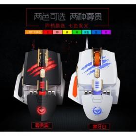 RAJFOO Gaming Mouse Laser - Model 2 - Black - 6