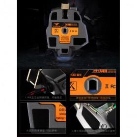 RAJFOO Gaming Mouse Laser - Model 2 - Black - 8