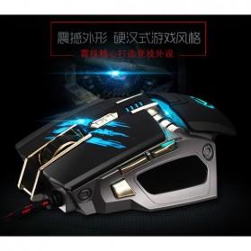 RAJFOO Gaming Mouse Laser - Model 2 - White - 3