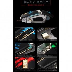 RAJFOO Gaming Mouse Laser - Model 2 - White - 7