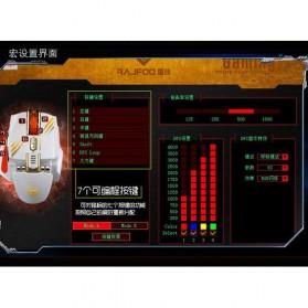 RAJFOO Gaming Mouse Laser - Model 2 - White - 10