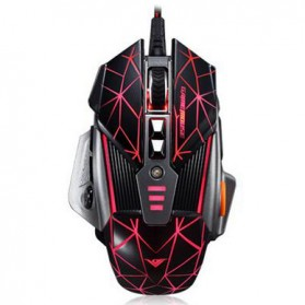 RAJFOO Gaming Mouse Laser - Model 3 - Black