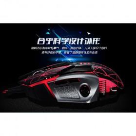 RAJFOO Gaming Mouse Laser - Model 3 - White - 4