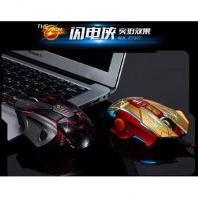 RAJFOO Gaming Mouse Laser - Model 3 - Golden - 2