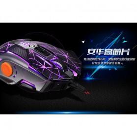 RAJFOO Gaming Mouse Laser - Model 3 - Golden - 3