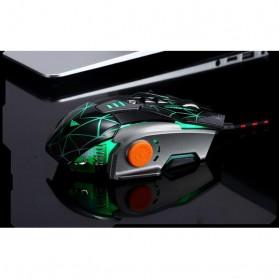 RAJFOO Gaming Mouse Laser - Model 3 - Golden - 5