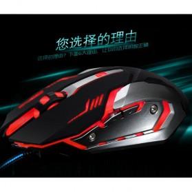 RAJFOO Gaming Mouse Laser - Model 4 - Black - 2