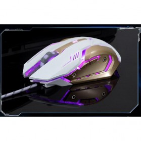 RAJFOO Gaming Mouse Laser - Model 4 - Black - 5