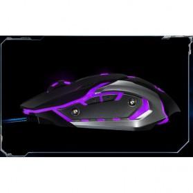 RAJFOO Gaming Mouse Laser - Model 4 - Black - 6