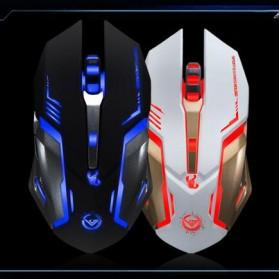 RAJFOO Gaming Mouse Laser - Model 4 - Black - 7