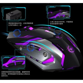 RAJFOO Gaming Mouse Laser - Model 4 - Black - 9