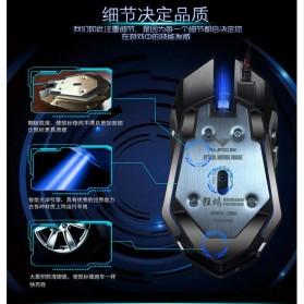 RAJFOO Gaming Mouse Laser - Model 4 - Black - 11