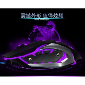 RAJFOO Gaming Mouse Laser - Model 4 - White - 3