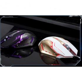 RAJFOO Gaming Mouse Laser - Model 4 - White - 4