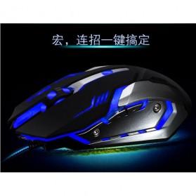 RAJFOO Gaming Mouse Laser - Model 4 - White - 8