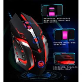 RAJFOO Gaming Mouse Laser - Model 4 - White - 10