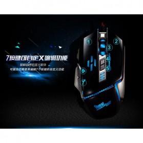 RAJFOO Gaming Mouse Laser - Model 5 - Black - 7