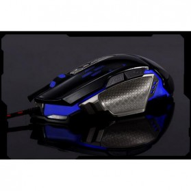RAJFOO Gaming Mouse Laser - Model 5 - White - 2