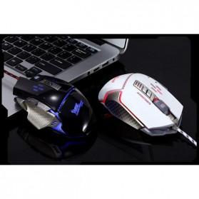 RAJFOO Gaming Mouse Laser - Model 5 - White - 4