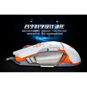 RAJFOO Gaming Mouse Laser - Model 5 - White - 5