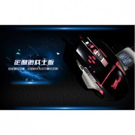 RAJFOO Gaming Mouse Laser - Model 5 - White - 6