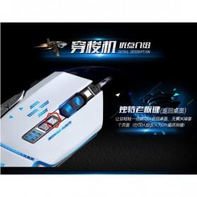 RAJFOO Gaming Mouse Laser - Model 5 - White - 8